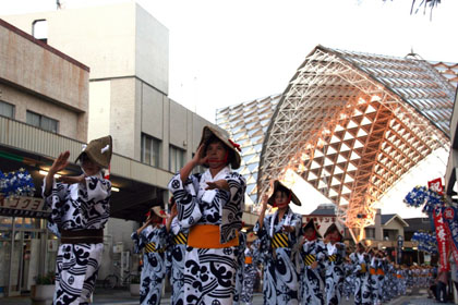 KUSHIKINO SANOSA FESTIVAL (Kushikino Sanosa Matsuri / 串木野さのさ祭り)