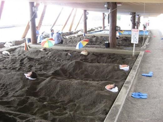 Natural Sand Steam Bath