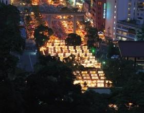 六月灯 ~鹿児島特有の夏祭り~