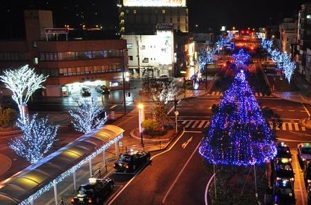 JR Sendai Station Illumination<br />(川内駅前ウィンターイルミネーション)<br />[Illumination 2017 ~ 2018]