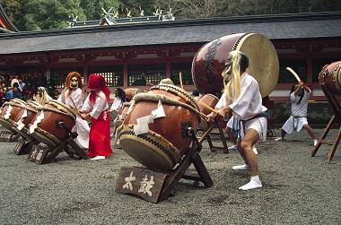 Kirishima Kumen Daiko (Kirishima Nine Mask Drum)