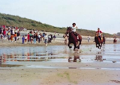 KUSHIKINO BEACH HORSE RACE (串木野浜競馬)