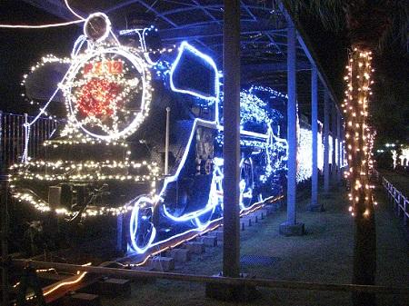 Winter Illumination at  Shibushi Railway Commemoration Park<br />/ Shibushi Tetsudo Kinen Koen<br />(志布志鉄道記念公園イルミネーション)<br />[Illumination 2017 ~ 2018]