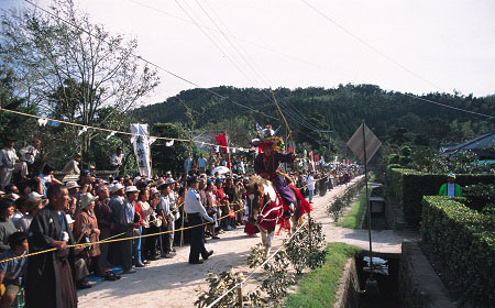 KOYAMA HORSEBACK ARCHERY FESTIVAL <br />(KOYAMA YABUSAME MATSURI / 高山やぶさめ祭)