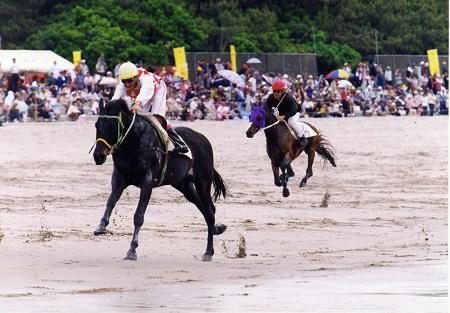 KUSHIKINO BEACH HORSE RACE 2018  (KUSHIKINO HAMA-KEIBA TAIKAI /  串木野浜競馬大会 2018)