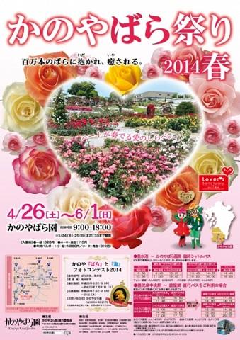 かのやばら祭り2014春