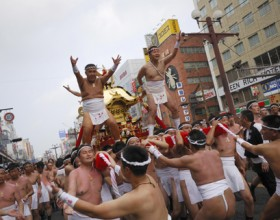 Ogionsaa Mikoshi (Portable Shrine) Bearers Wanted