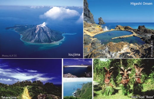 Mishima Islands & Toshima Islands