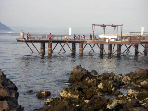 Sakurajima Umizuri Koen (Sakurajima Sea Fishing Park / 桜島海づり公園)