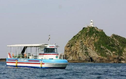 """Semi-submersible ship  """"Sata-dei-Go"""""""