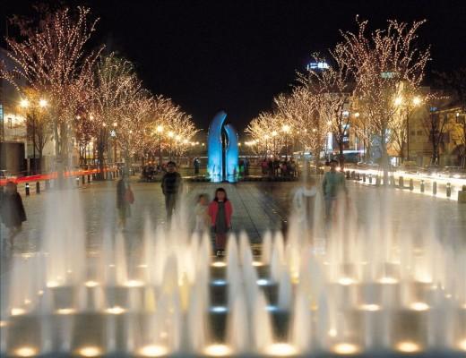 Minato Odori Park Illumination